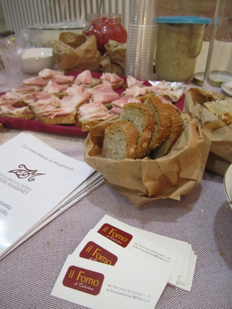 pane del forno Calzolari di Monghidoro