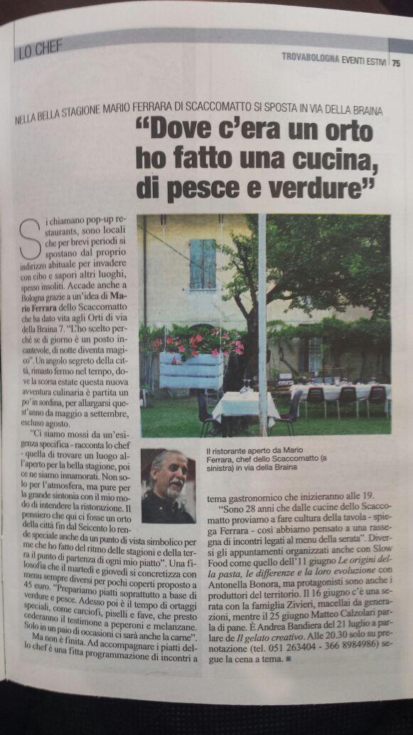 Trova Bologna del 28/05/2015